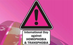 International Day Against Homophobia and Transphobia (IDAHO) events around Asia this weekend