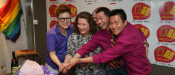 Launch of 'Double Happiness' LGBT Group in Support of Marriage Equality