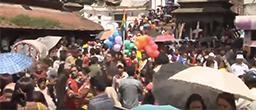 LGBT pride parade in Nepal