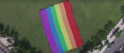 LGBT supporters unfurl rainbow flag to mark national day in Taiwan