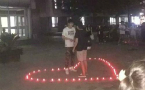 University student in Beijing announces love for friend