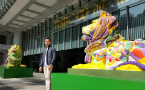 HSBC's rainbow lions sparks debate