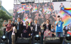 Taiwan's legislature takes first step toward marriage equality