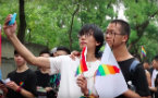 Fridae Lifestyle - WATCH: Mainland Chinese Attend Pride in Taipei