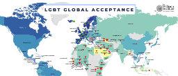 Study Charts LGBT Acceptance Around The World
